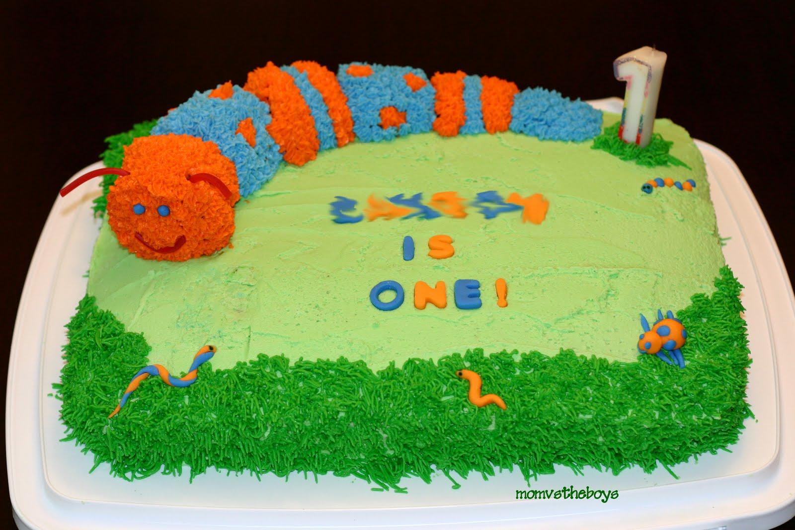Caterpillar Bug Cake How To Youtube