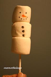 marshmallow-snowmen