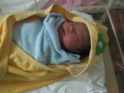 Tempat jam 10:36 malam, Nurin Amani selamat dilahirkan.