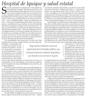 interesantísimo ánalisis - Editorial El Mercurio - Octubre 17, 2008