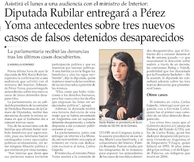 El Mercurio, Enero 03, 2009