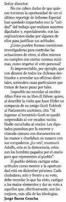 La Tercera, Junio 5 de 2009