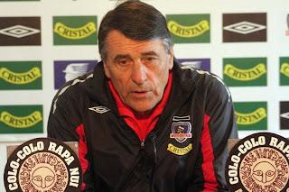 dijo el director técnico que Colo Colo jugó bien ... qué partido vió usted señor Tocalli?