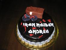 Torta Iron Maiden per Andrea