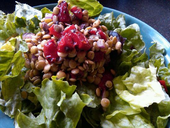 [Mediterrean+Sprouted+Lentil+Salad]