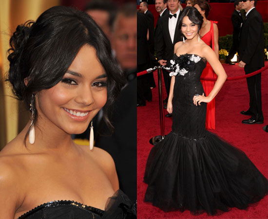Vanessa Hudgens in a modified Marchesa dress
