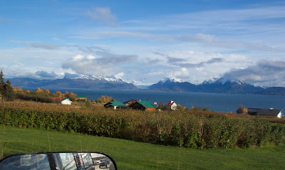 Kachemak Bay from East End Road