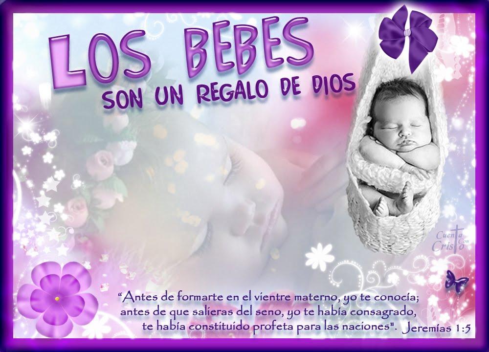 Cuenta con Cristo*•.: Los Bebes son un regalo de Dios