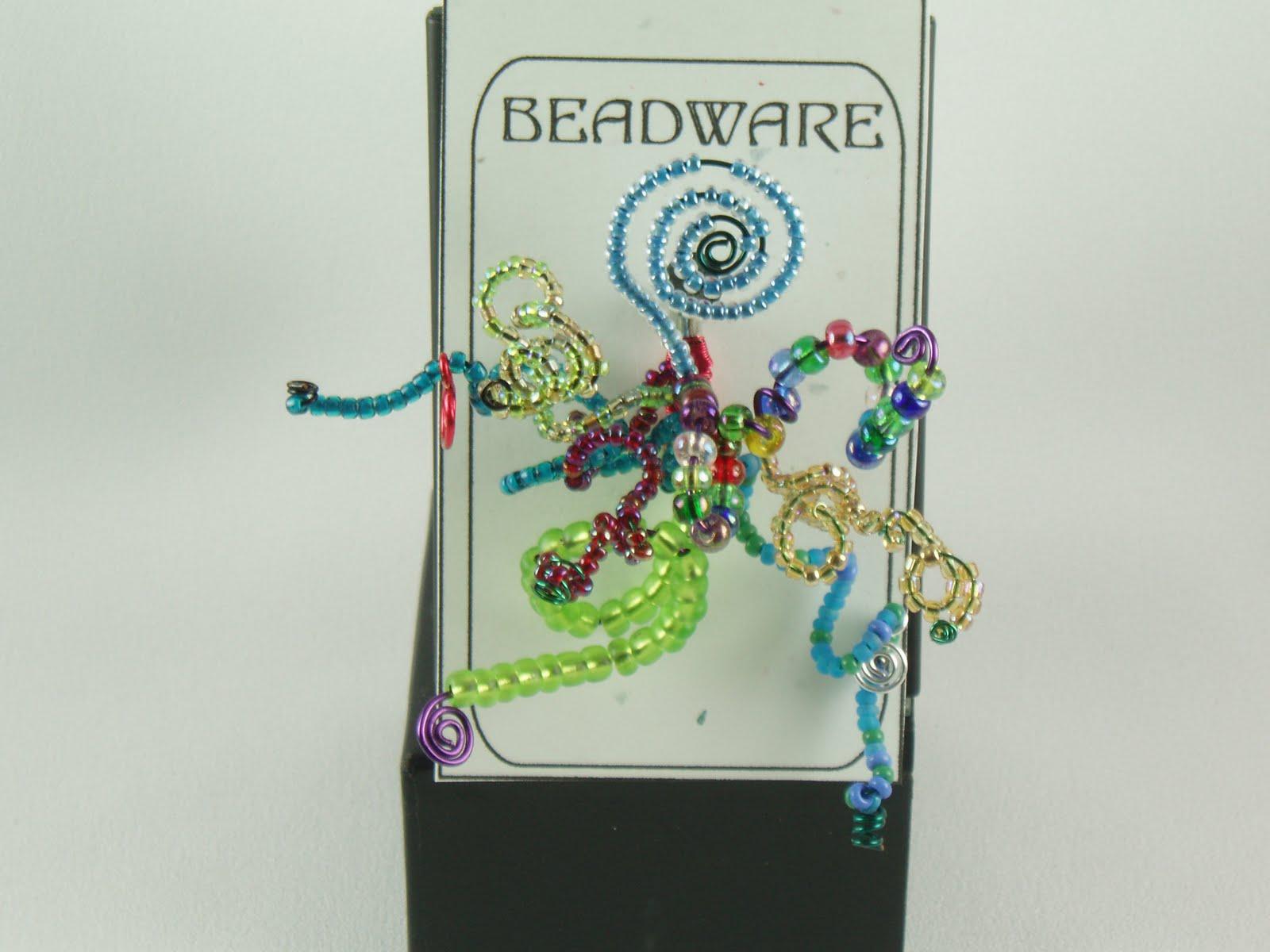 Beadware: New - Bead Art Pins