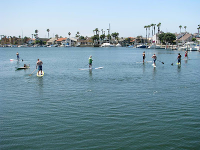 Learn to stand up paddle surf with us here in beautiful San Diego!