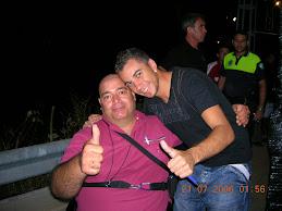 Sergio Contreras y yo.