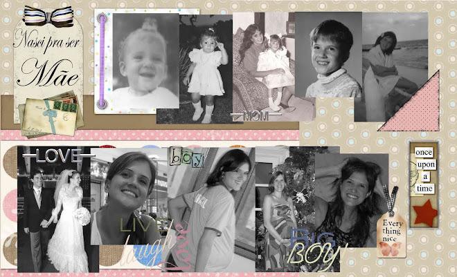 Nasci pra ser mãe