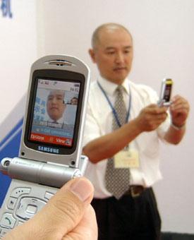 Videollamadas vía celulares