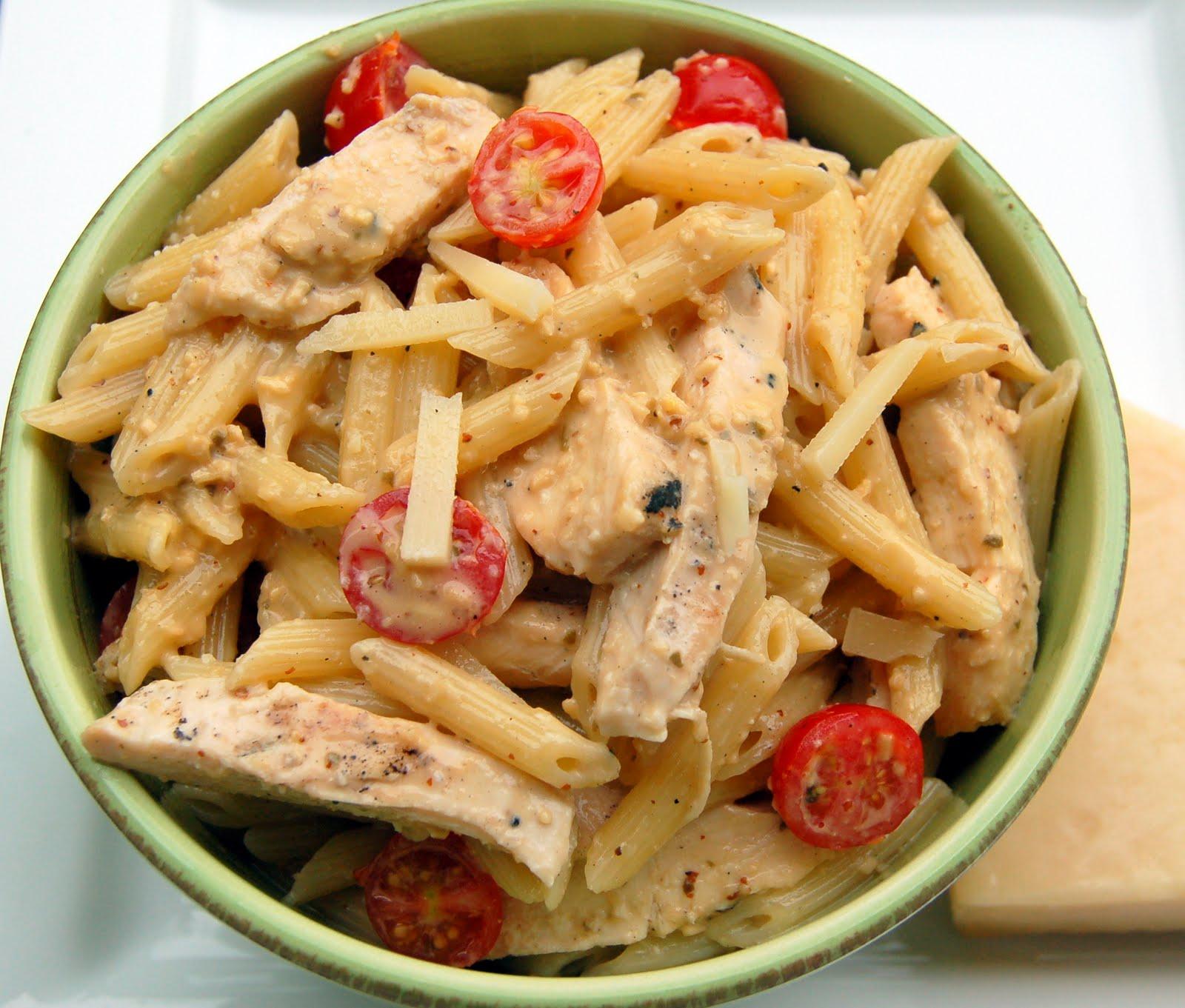 Chicken caesar pasta salad grilled chicken caesar pasta salad forumfinder Images