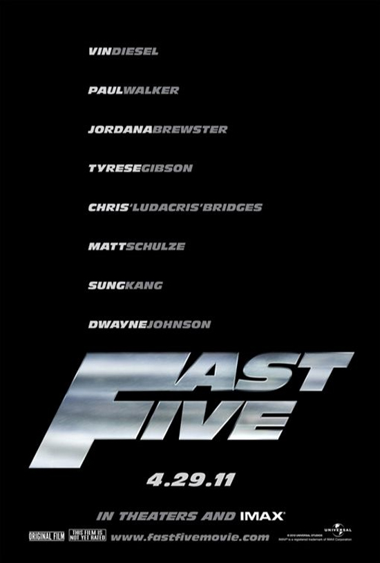 fast five poster wallpaper. movies released in 2011