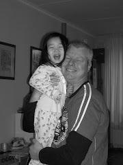 Anne met papa