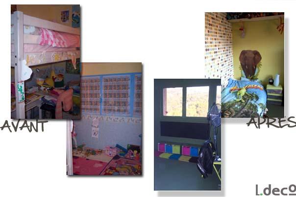 avant apr s. Black Bedroom Furniture Sets. Home Design Ideas