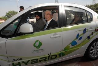 Hybrid cars for Commonwealth Games by Maruti Suzuki