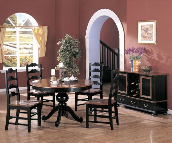 Store of modern furniture in nyc blog two tone dining for 2 tone dining room sets