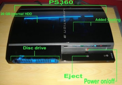 Xbox 360 Crammed Into PS3 Shell
