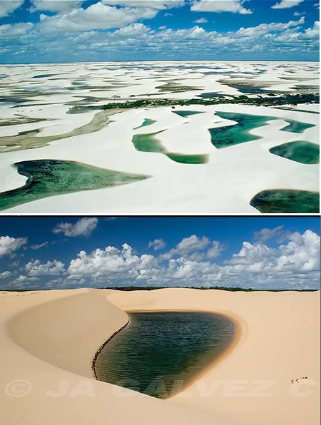 Lençóis Maranhenses (Brazil): a 'desert' with lagoons