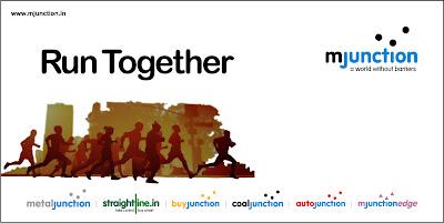 mjunction supports Kolkata Marathon 2009