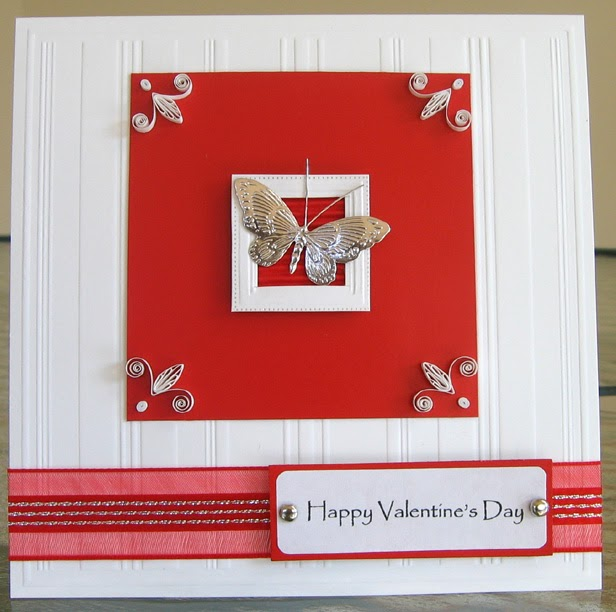 All Things Paper Quilled Valentine Card Tutorial