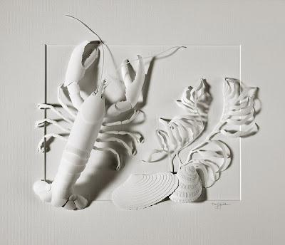daryl ashton, paper sculpture artist