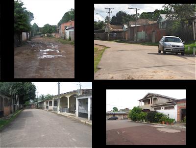 Rio Branco Acre Regional II Pavimentação de vias