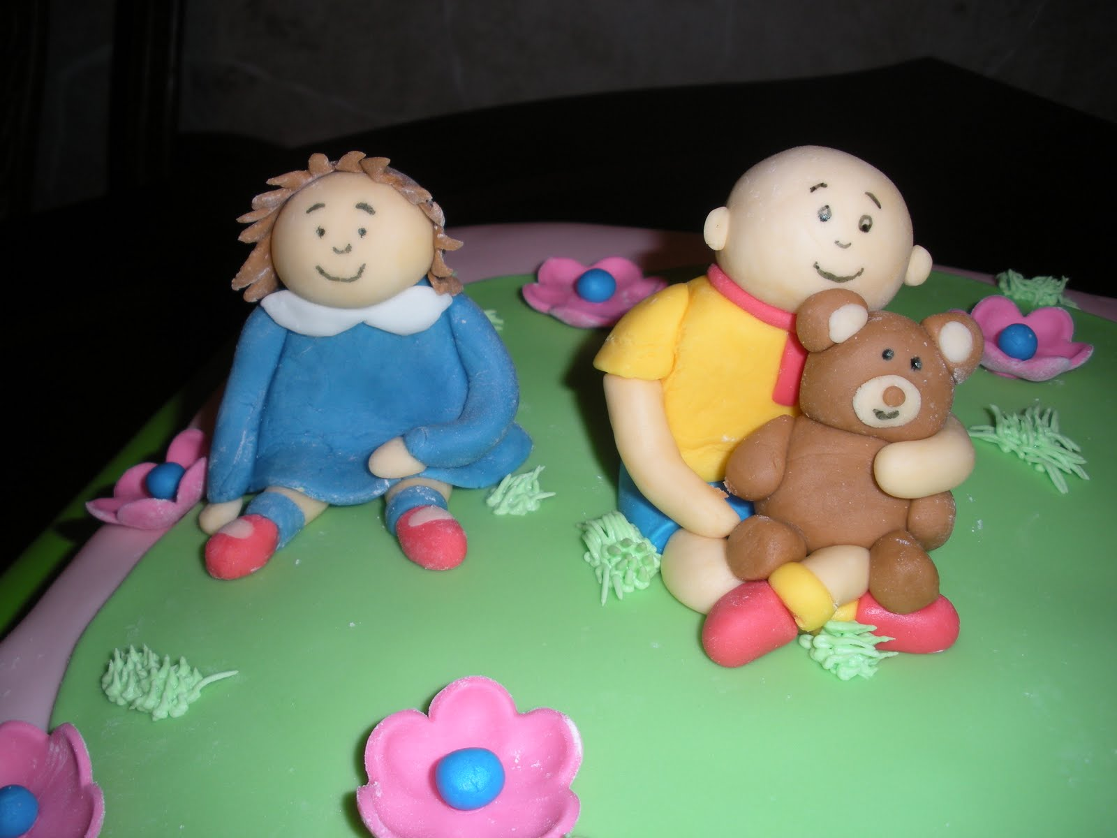 Custom Cakes By Britt Caillou Birthday Cake