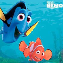Disney - Nemo, Peliculas Disney, Buscando a Nemo, Dori, Merlyn, Tiburon, Pecera, Oceano, Tortuga