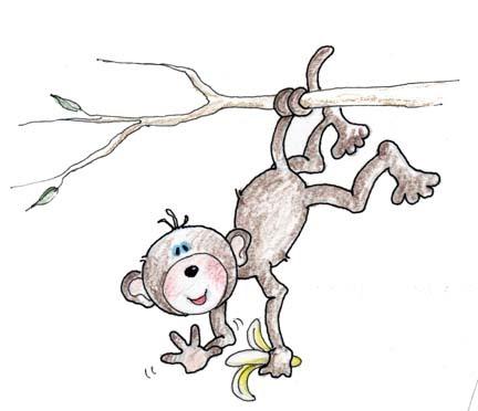 Experimentos, Inventos y Cuentos para niños: El mono bromista