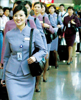 Chinese Airhostess