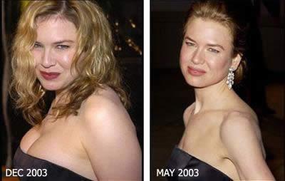 Cambios fisicos en actores
