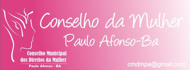 Conselho da Mulher - Paulo Afonso/BA