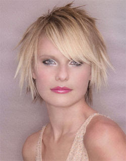 Latest Messy Short Hairstyles Trends 2010
