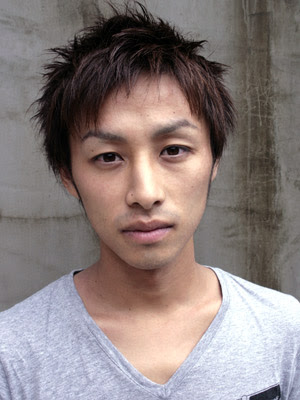 Fashion men's hairstyles for 2008. Japanese hairstyle from Shirota Yuu Yuu
