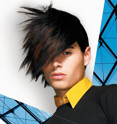 Medium Length Men's Haircut. Intercoiffure Böhm.Haare! Hairstyle