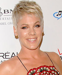 Pink pulled off a great look at clive davis pre grammy party with