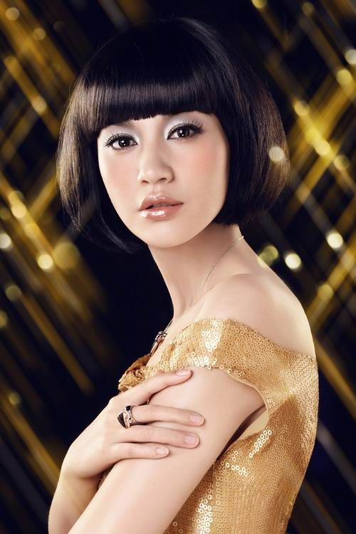 Asian Short HairStyles for Women Trendy Asian bob hairstyle
