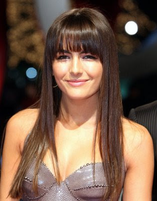 Long fringe hairstyles 2010 are not for