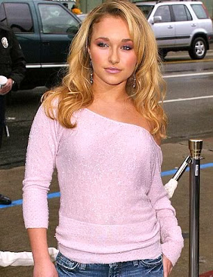 Celebrity hairstyles Hayden Panettiere