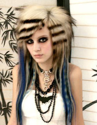 teenage girls hairstyles. Long Emo Hairstyles For Emo Teen Girls 2009
