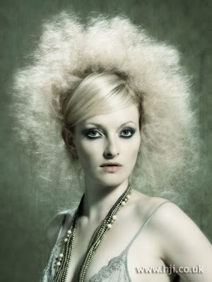 Cool Afro Blonde Hairstyles