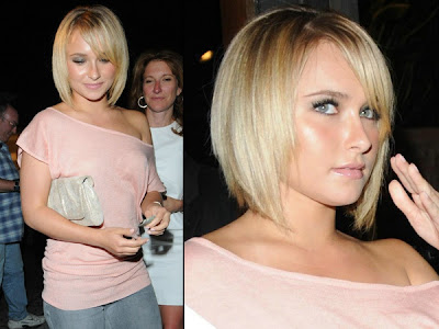 layered hairstyles side swept bangs pictures