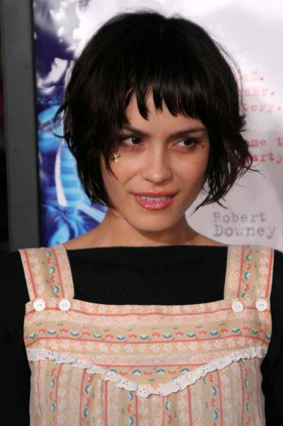cute hairstyle. Shannyn Sossamon cute hairstyle
