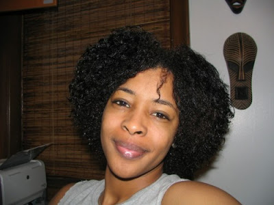 Curly Afro Hairstyles For Women 2009