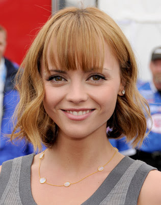 Nicole Richie Long Bob Hairstyle. nicole richie ob haircut.