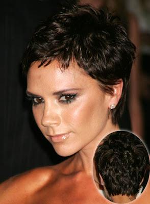 Victoria Beckham Short Pixie Haircut
