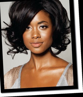 How to Find Hairstyles for African American Hair brunette with medium hair